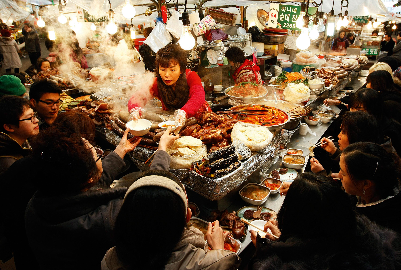 Seoul's street food gets classy