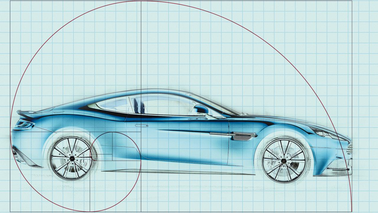 Image result for the golden ratio cars