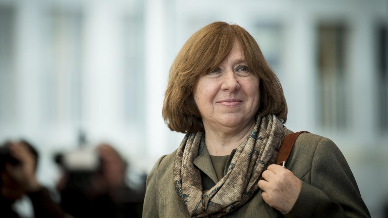Risultati immagini per Svetlana Alexievich