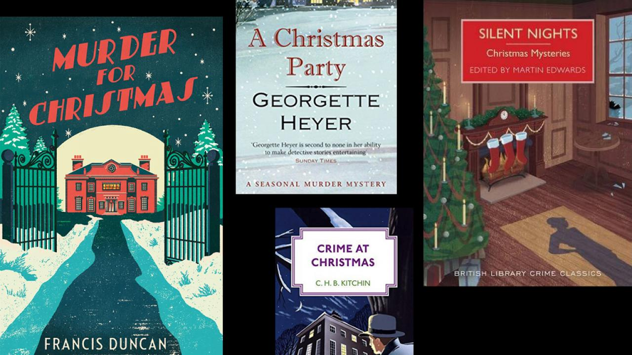 we wish you a murderous christmas - Christmas Mystery Books